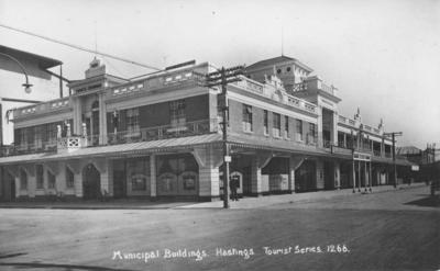 Municipal Buildings, Hastings; Frank Duncan & Co