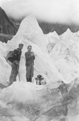 Ice Pinnacles, Fox Glacier