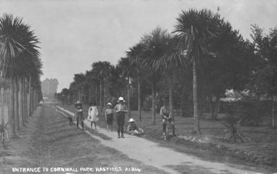 Cornwall Park, Hastings