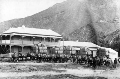 Horse Drawn Wool Wagons, Kuripapango Hotel