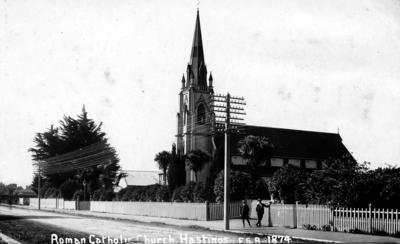 Catholic Church, Hastings; Radcliffe, Frederick George; Frank Duncan & Co