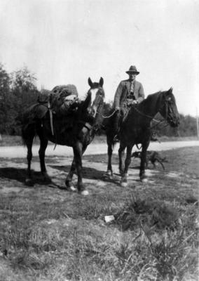Back country farmer, unidentified location