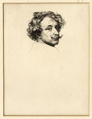 Untitled- Print of a Man's Head