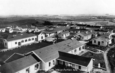 Sanatorium, Waipukurau; Frank Duncan & Co