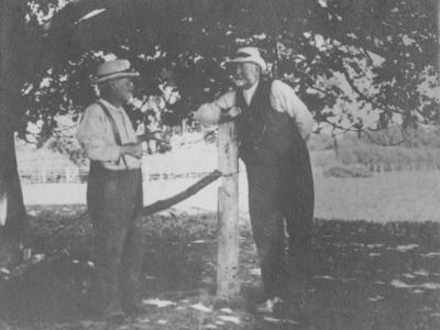 Portrait of Stuart Waddell and Walter Archibald
