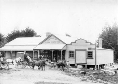 Macfarlane's Store, Makaretu; Mariboe, Charles Henry