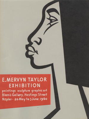 Poster, E Mervyn Taylor Exhibition