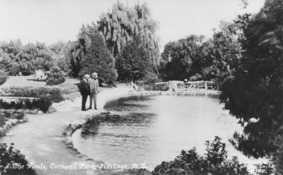 Cornwall Park, Hastings; Lovell-Smith, Hubert John