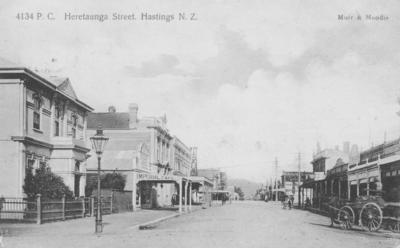 Heretaunga Street, Hastings; Muir & Moodie