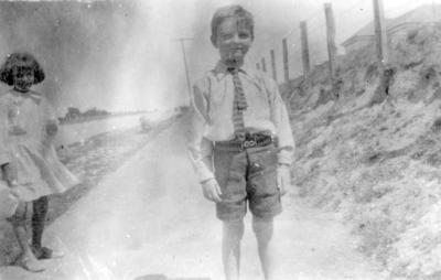 An unidentified boy at Otane, St Hilda's Children's Home