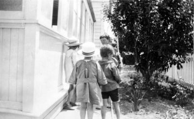 A group of children, St Hilda's Children's Home