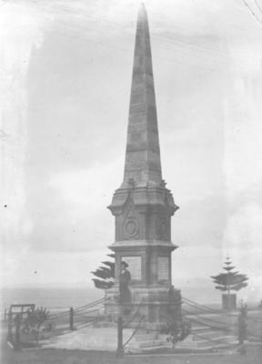 Clive Flood Memorial, Marine Parade, Napier