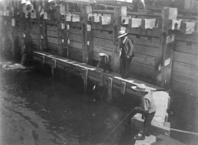 Fishing scene, unidentified location