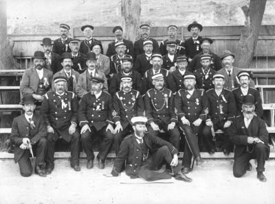 Fire Brigade Service; Sorrell, Charles Hudson Cunningham