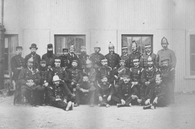 Volunteer Fire Brigade; Mariboe, Charles Henry
