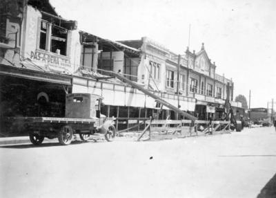 Damaged Buildings, Heretaunga Street