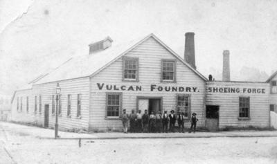 Vulcan Foundry, Hastings Street, Napier