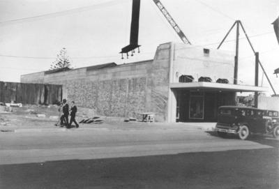 Bestall's Building, Hastings Street, Napier