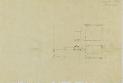 Architectural plan, proposed National Mutual Life Association of Australasia building, Napier
