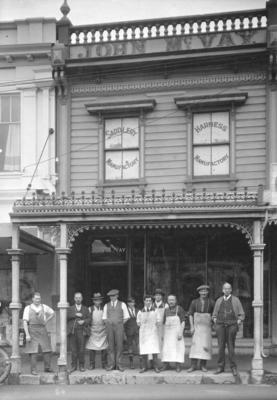 John McVay, Hastings Street, Napier