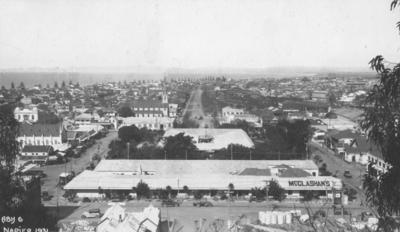 McGlashans Limited, Tennyson Street, Napier; A B Hurst & Son