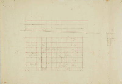 Architectural plan, possibly Albion Hotel, Napier