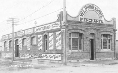 W L Prime & Sons, Dickens Street, Napier; Sorrell & Son
