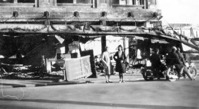 Earthquake Damage, Marine Parade, Napier