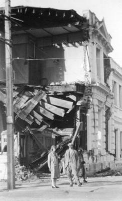 Earthquake Damage, Napier