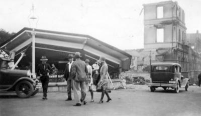 Earthquake Damage, Band Rotunda
