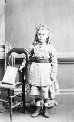 Portrait of an unidentified child