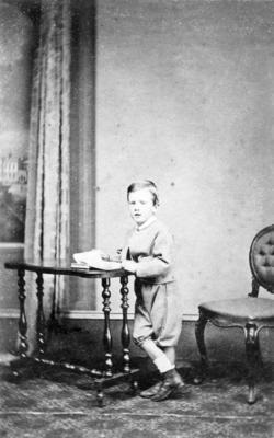 Portrait of Mark Robert Henry James