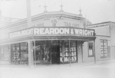 Reardon and Wright, Napier