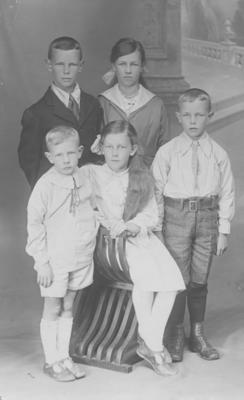 Children of Alfred and Gisella Lambert