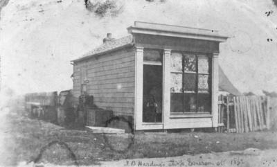 T B Harding's shop, Napier