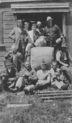 The Gang at Te Mangahuia Station