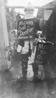 Herbert Moss's Doll Doctor, Napier