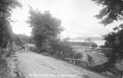 Road to Terrace Hotel, Lake Taupo