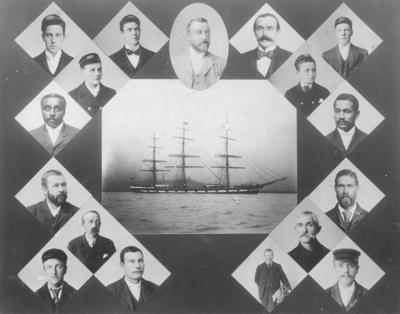 Lochee with portraits of its crew