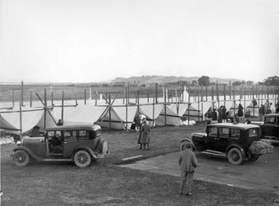 Temporary Hospital, Napier Racecourse