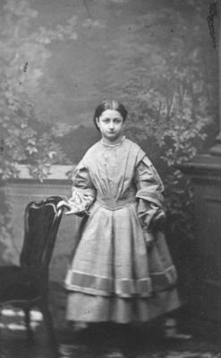 Portrait of an unidentified woman; Whitlock's Photographic Rooms