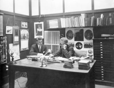 Interior, Swailes Printing Company