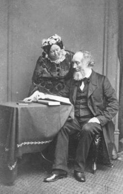 Portrait of an unidentified husband and wife