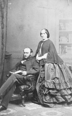 Portrait of Mr and Mrs Sampson-Lloyd