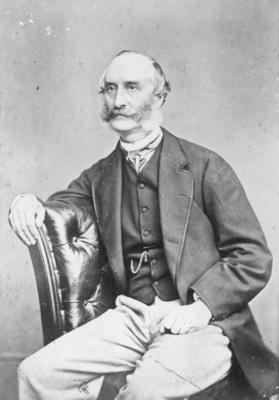 Portrait of Edmond Parker