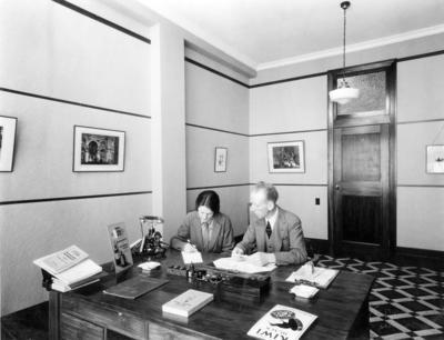 Interior, Swailes Printing Company; Sorrell, Percy Caz