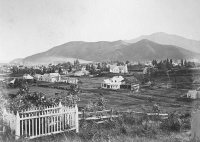 View from Cemetery, Nelson