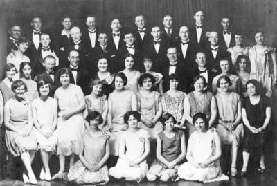 Madame Bella Russell and Choir