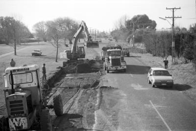 Widening Napier's Chambers Street