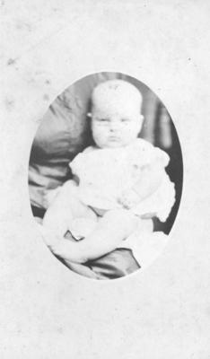 Portrait of an unidentified child; Carnell, Samuel; 75/208